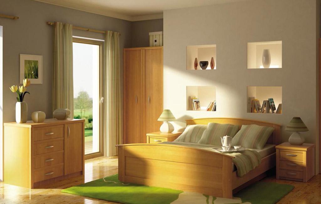 Интерьеры с мебелью из ольхи