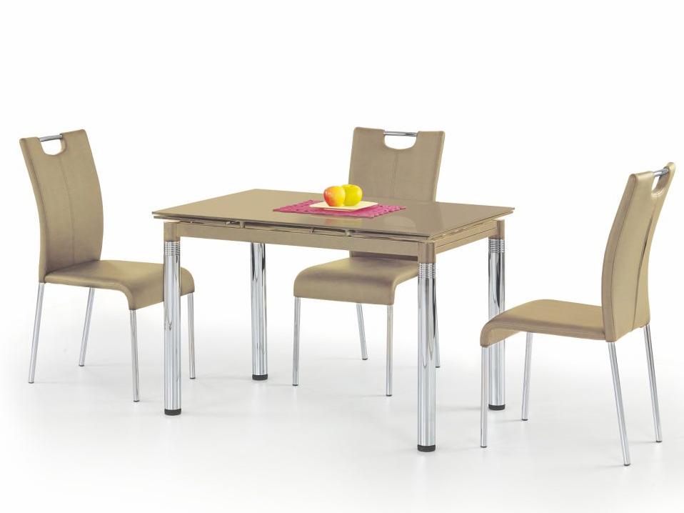 Купить кухонный стол стеклянный раскладной в москве